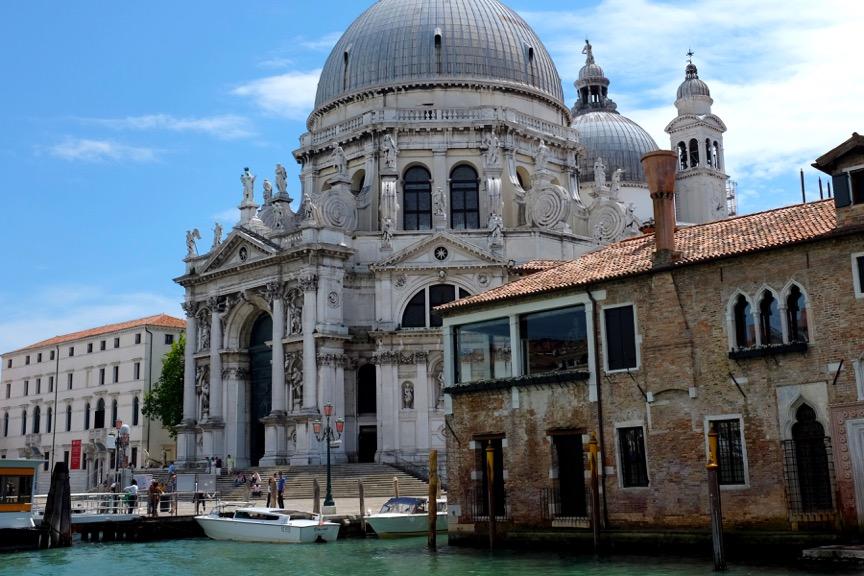Basilica di Santa Maria della Salute, Venice Italy