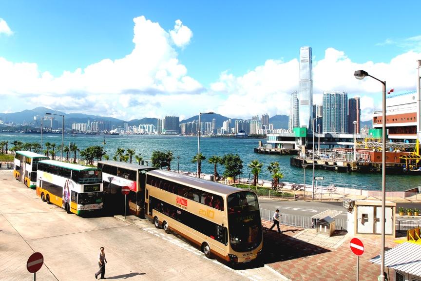 Bus Depot, Causeway Bay, Hong Kong