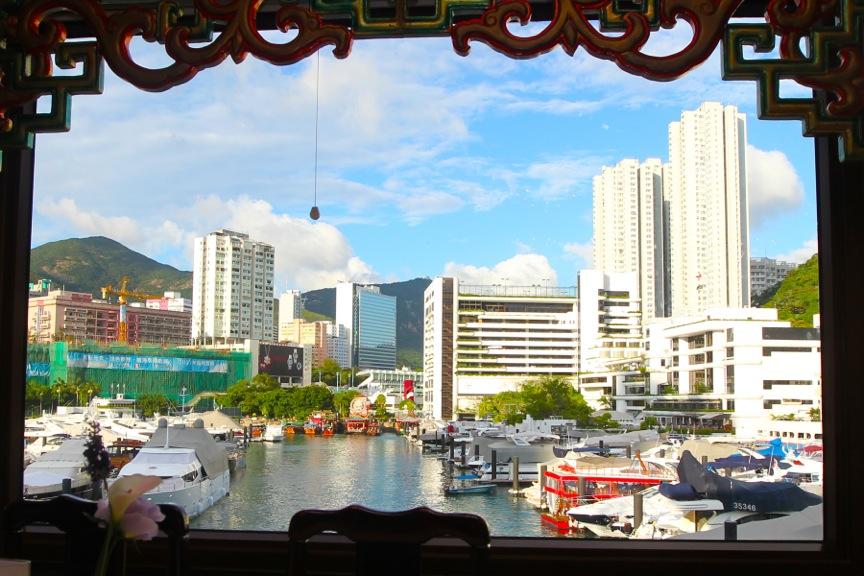 Dining room view, Jumbo Kingdom Floating Restaurant, Wong Chuk Hang, Hong Kong