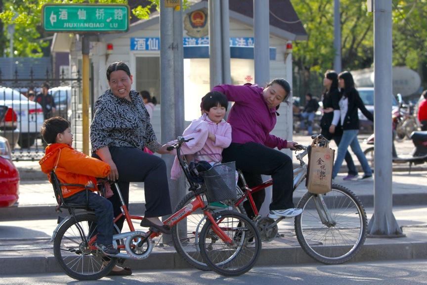 Family Transport, Beijing, China