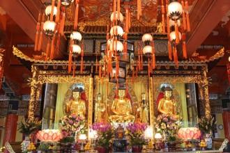 Main Shrine Hall of Buddha, Tian Tan Buddha, Ngong Ping, Lantau Island, Hong Kong
