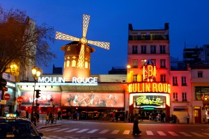 Moulin Rouge Montmartre Paris France