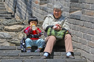 Great Wall of China: Locals are very friendly