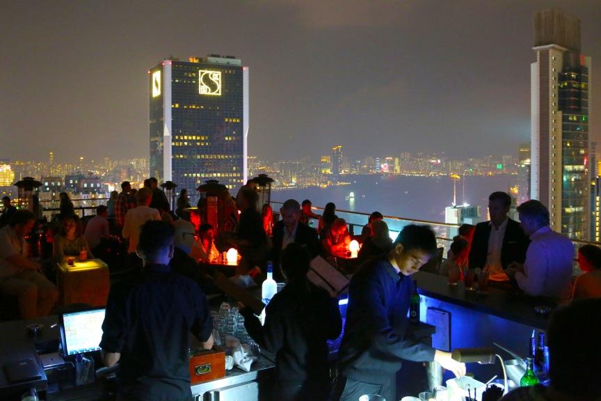 Wooloomooloo Rooftop Bar Wan Chai, Hong Kong