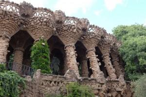 Rock Formations Park Güell, Antoni Gaudí, Barcelona, Spain