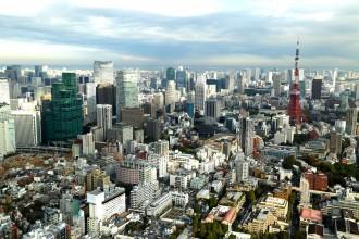 Tokyo Skyline from the Mori Tower Roppongi