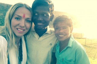 local children India