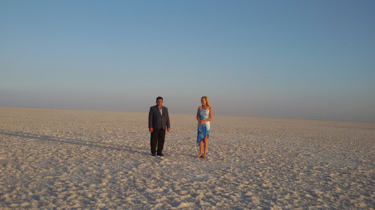 Great Rann of Kutch salt flat