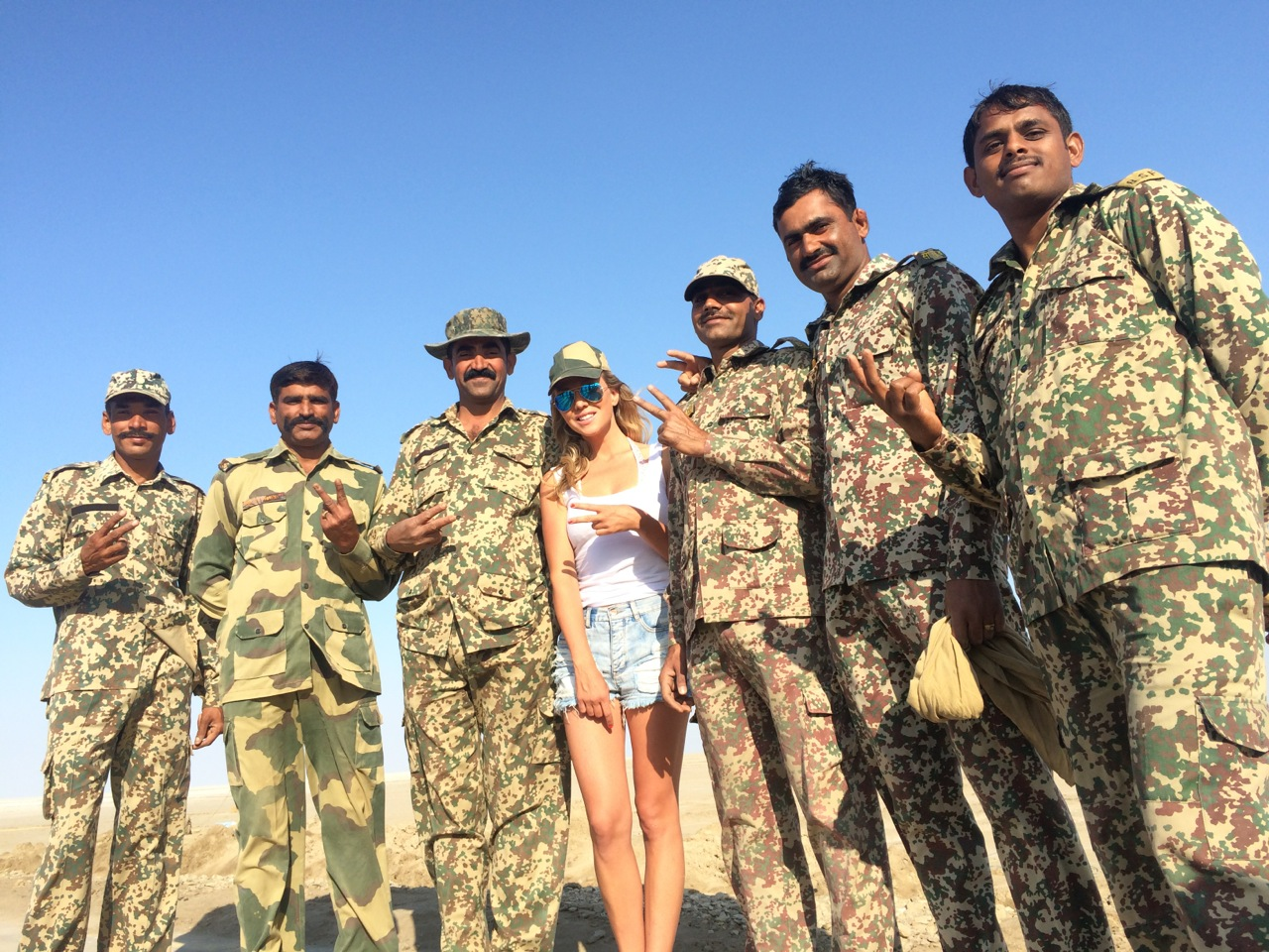 Indian Army at Great Rann of Kutch