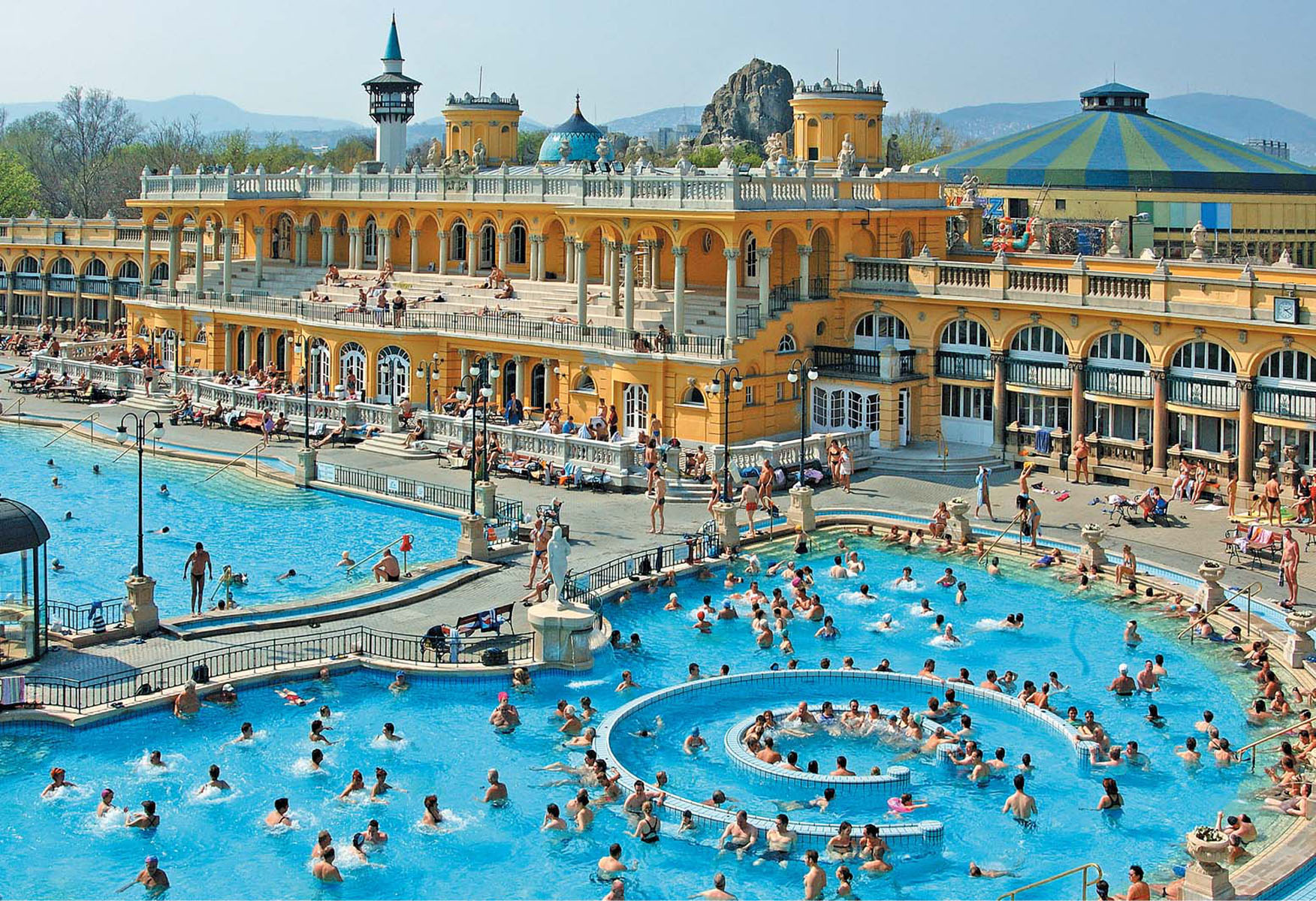 Szechenyi Spa Baths Outdoor Pool