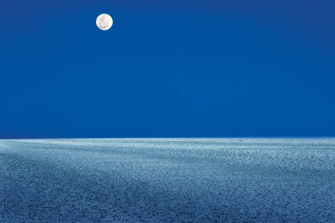 Moonlight on the Salt Flats at Great Rann of Kutch