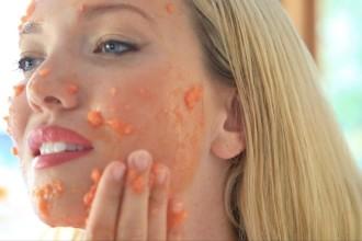 DIY Skincare AHA facial