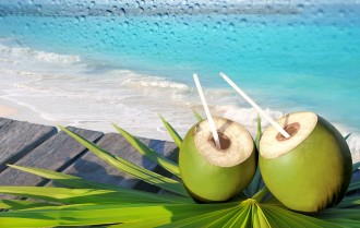 Young coconut juice: healthy of a fad?