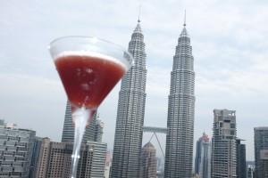 Cocktails at Sky Bar Kuala Lumpur