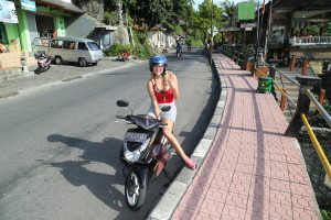 Getting Around Bali: Scooters are cheap and convenient