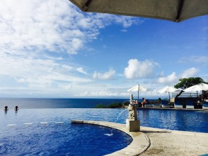 Poolside: a great way to spend the day in bali