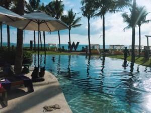 W Hotel Bali pool area