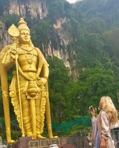 World's Largest Murugan Statue Kuala Lumpur Malaysia
