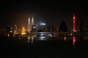 Kuala Lumpur Twin Towers Infinity Pool Regalia Residences