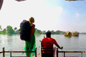 Backpack India Kerala Houseboats backwaters